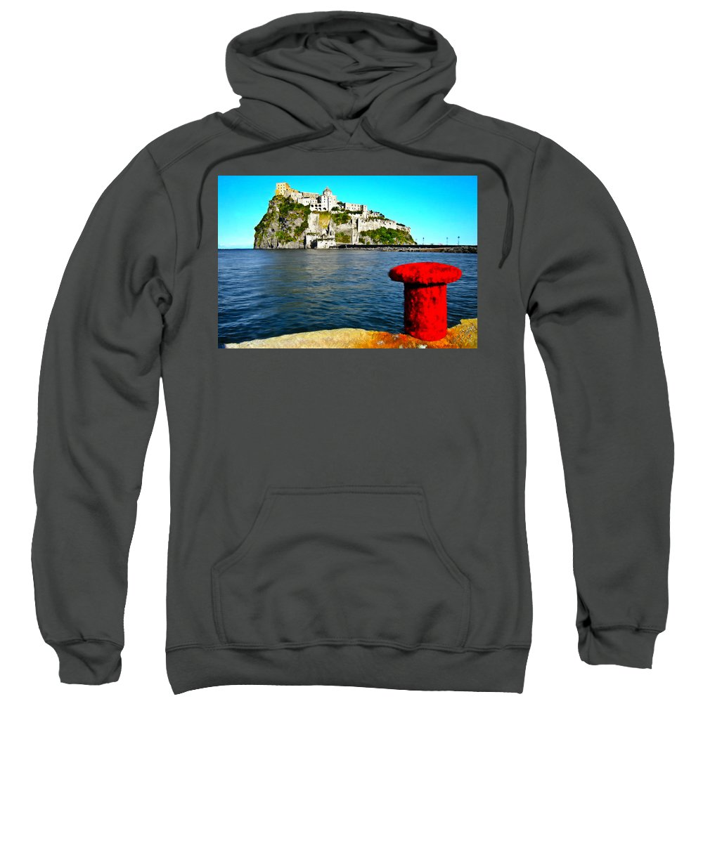 Island Sweatshirt featuring the painting Fresh Coat Of Paint by Bruce Nutting