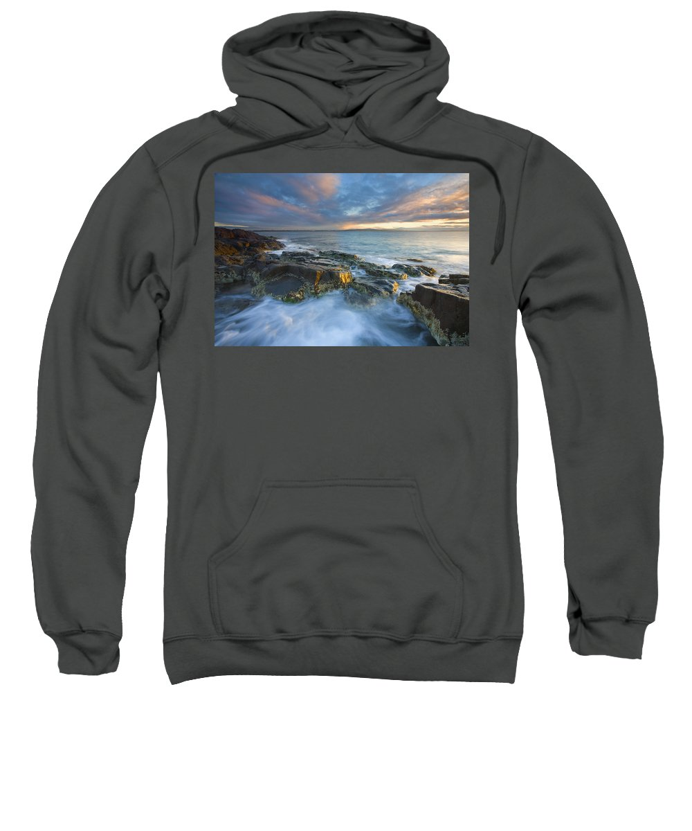Freycinet Sweatshirt featuring the photograph Freycinet Cloud Explosion by Mike Dawson