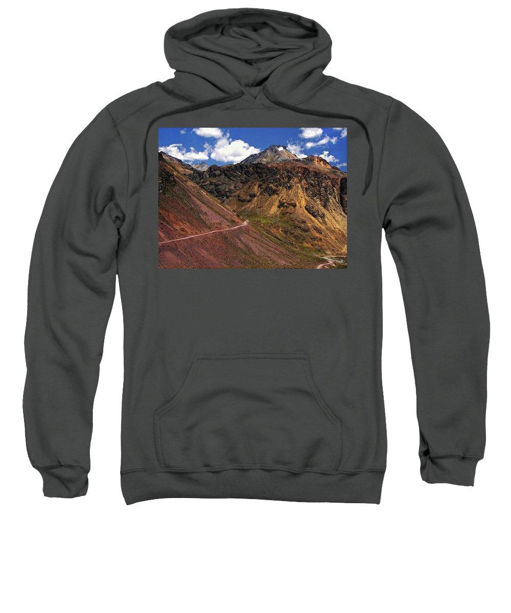 Peru Sweatshirt featuring the photograph Gasp by Steve Harrington
