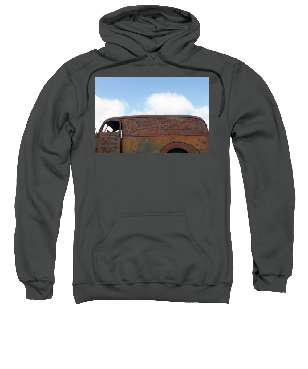 Photo Frames Sweatshirt featuring the photograph General Sherman Whiskey by CE Haynes
