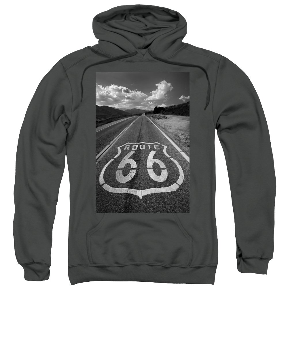 Abandoned Sweatshirt featuring the photograph Get Your Kicks On by Peter Tellone