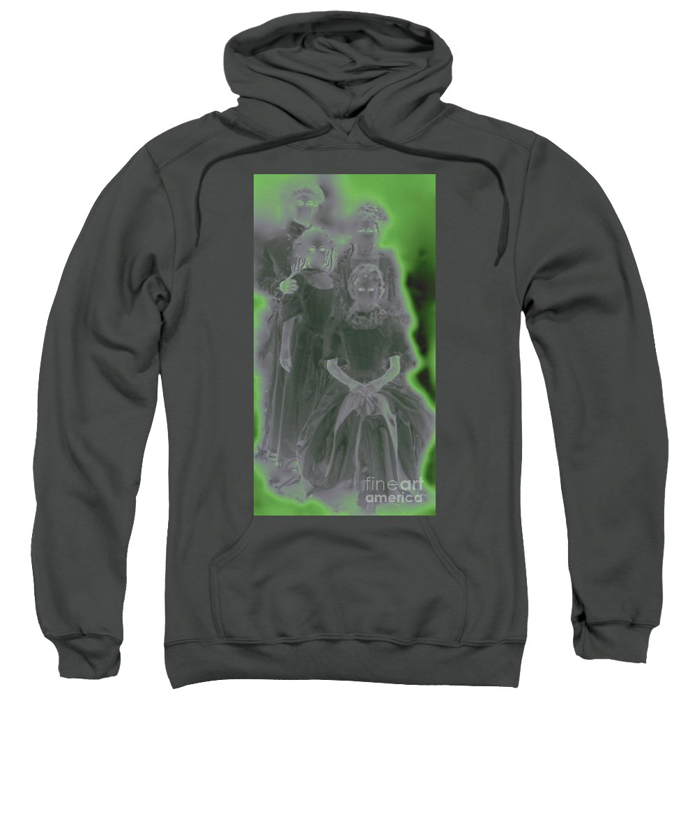 First Star Art Sweatshirt featuring the photograph Ghost Family Portrait by First Star Art