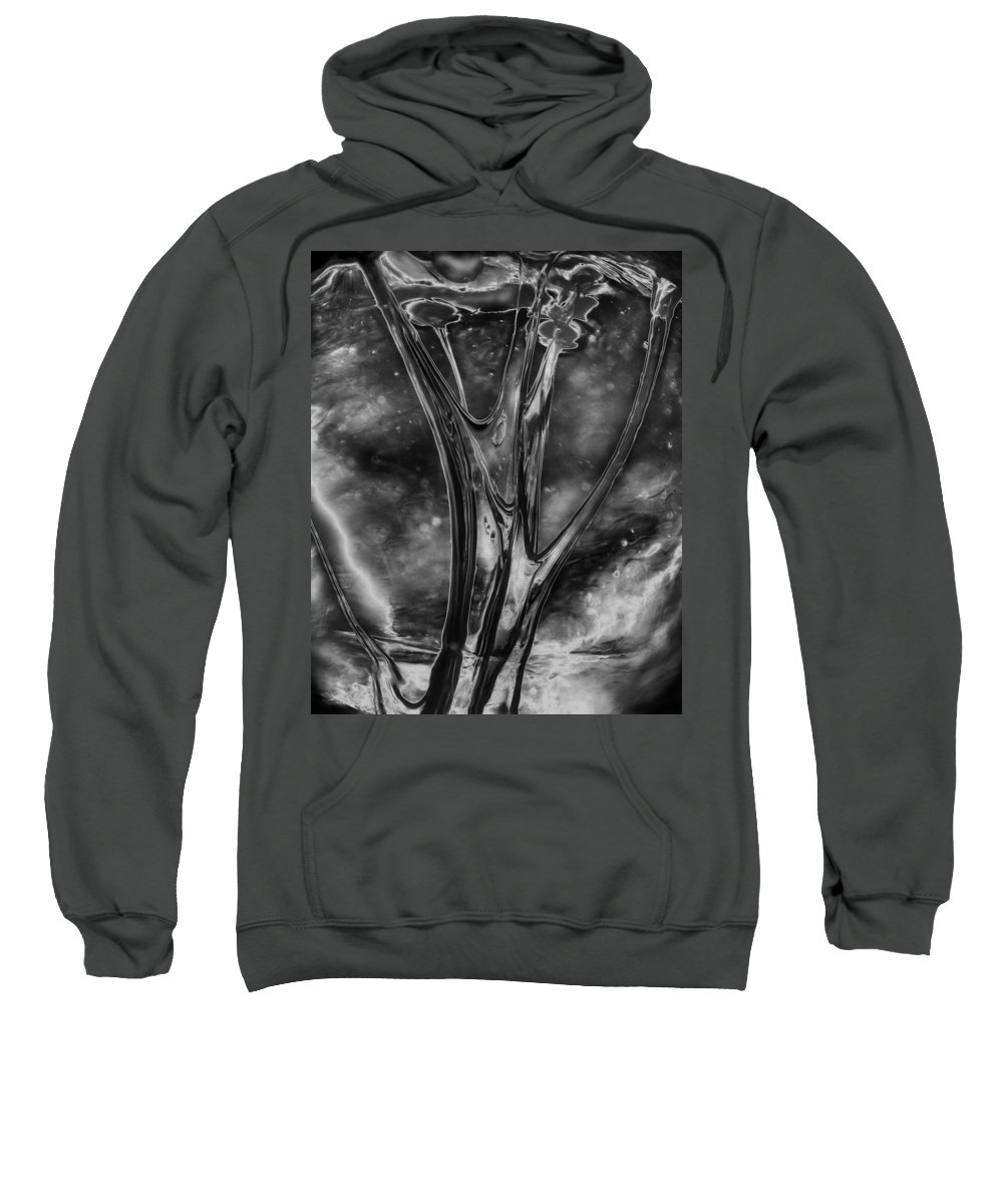 Abstract Sweatshirt featuring the photograph Glass Ceiling by Guy Shultz
