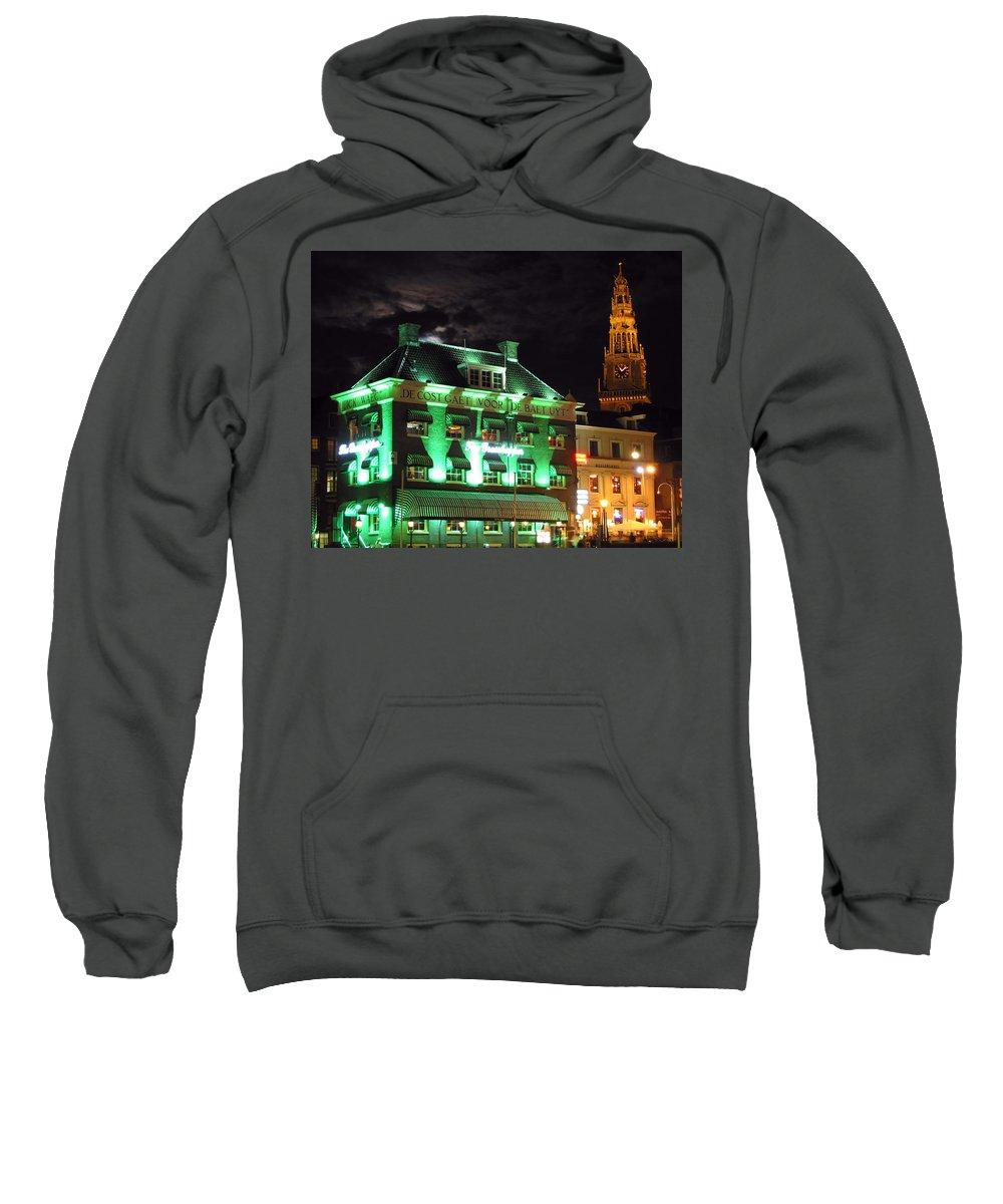3scape Sweatshirt featuring the photograph Grasshopper Bar by Adam Romanowicz