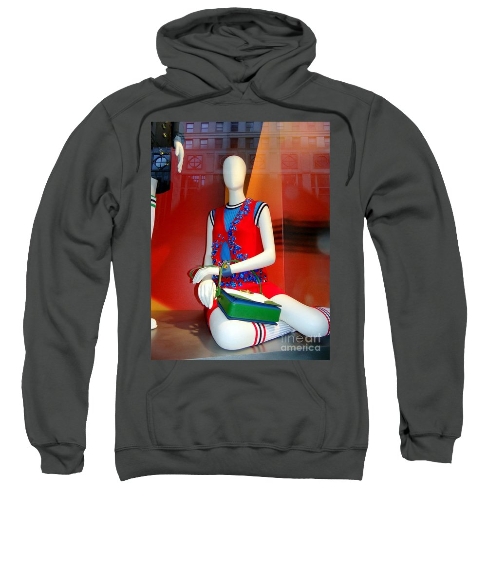 Mannequins Sweatshirt featuring the photograph Gym Socks And Jewels by Ed Weidman