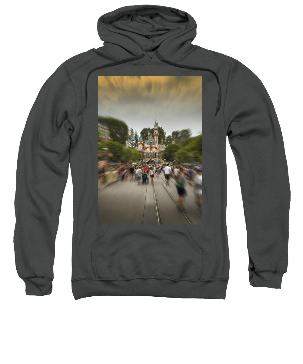 Walt Sweatshirt featuring the photograph Happy Walk by Ricky Barnard