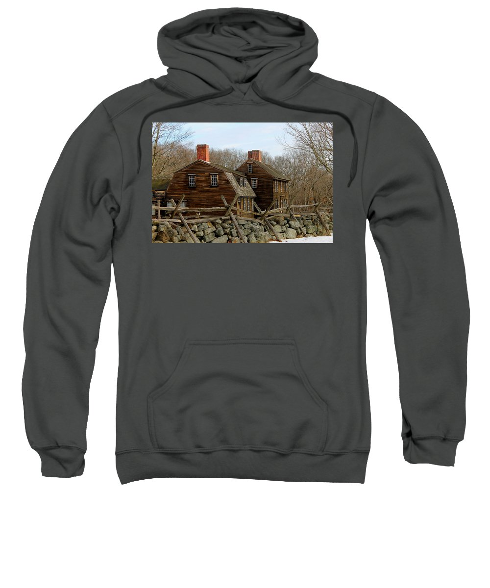 Hartwell Tavern Sweatshirt featuring the photograph Hartwell Tavern 3 by Jeff Heimlich