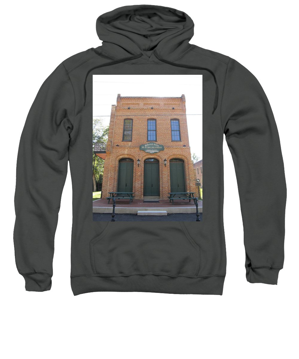 Haunted Saloons Sweatshirt featuring the photograph Haunted Historic Saloon by Donna Wilson