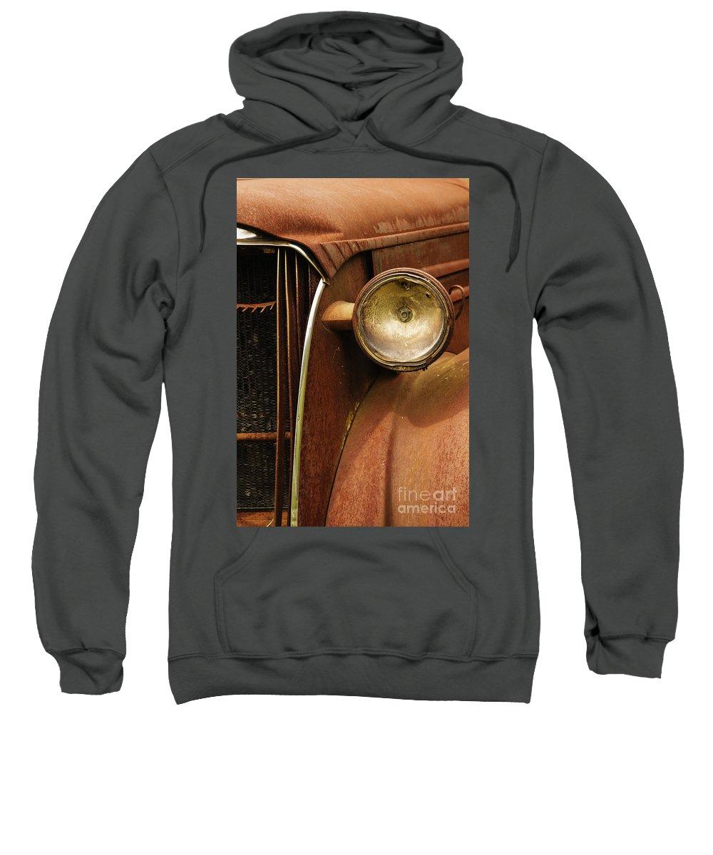 Headlight Sweatshirt featuring the photograph Headlight by Margie Hurwich