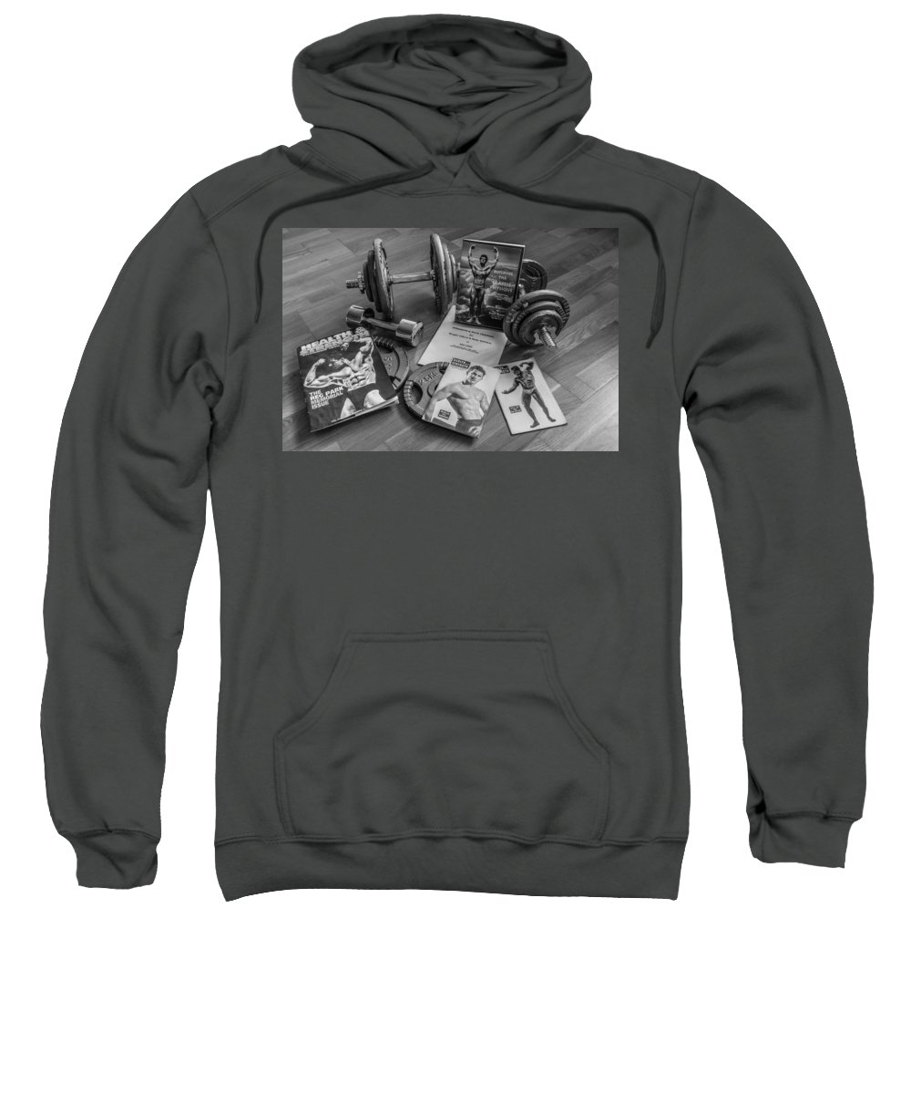 Health And Strength Sweatshirt featuring the photograph Health And Strength by Tgchan