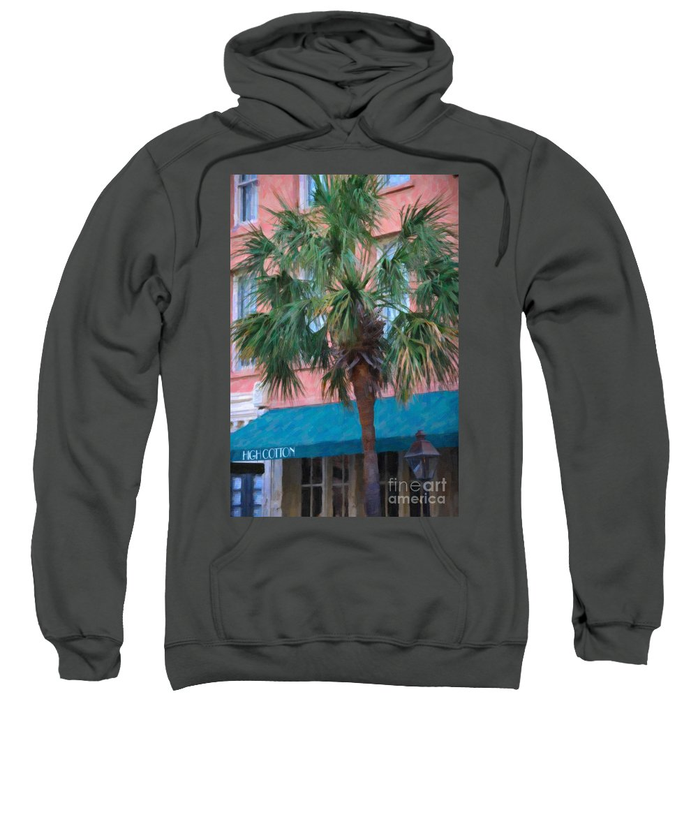 High Cotton Sweatshirt featuring the digital art High Cotton by Dale Powell