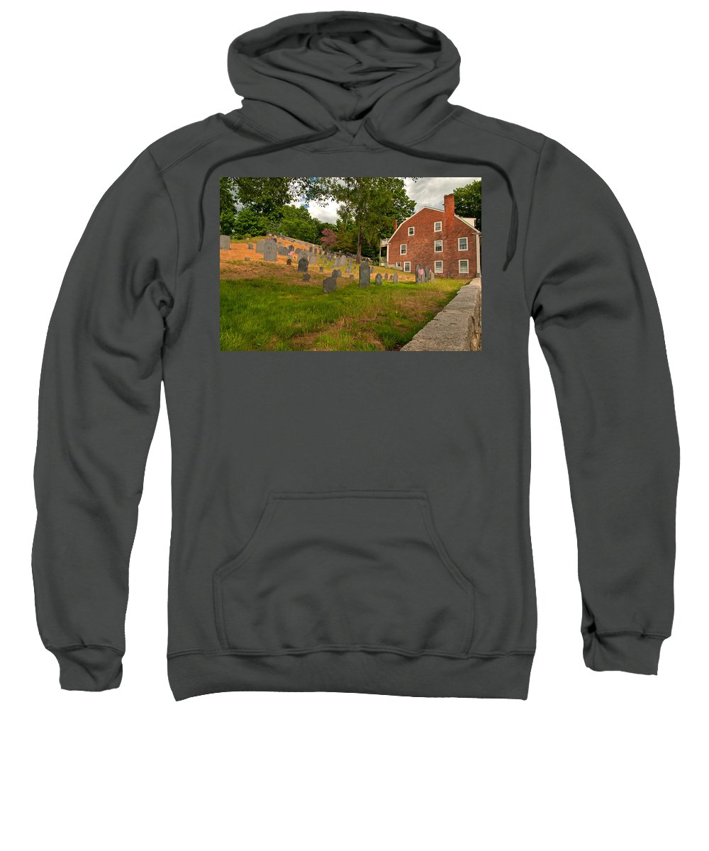 concord Sweatshirt featuring the photograph Historic Concord by Paul Mangold