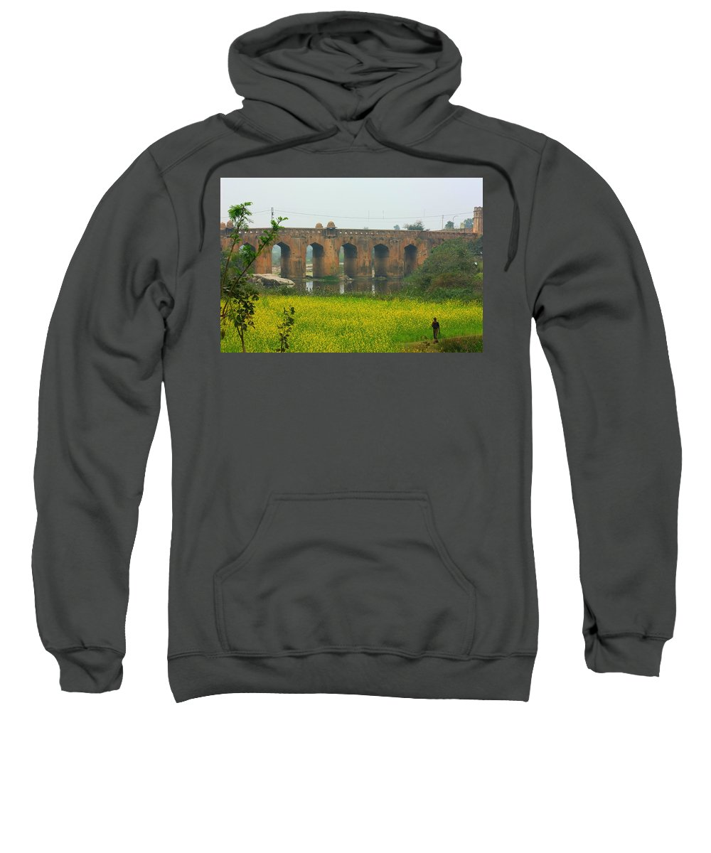 India Sweatshirt featuring the photograph Historic Orchha by Amanda Stadther