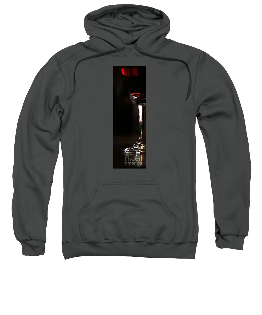 Wine Sweatshirt featuring the photograph Holiday Cheer by Linda Shafer