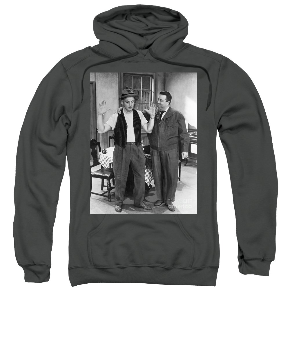 1955 Sweatshirt featuring the photograph Honeymooners by Granger