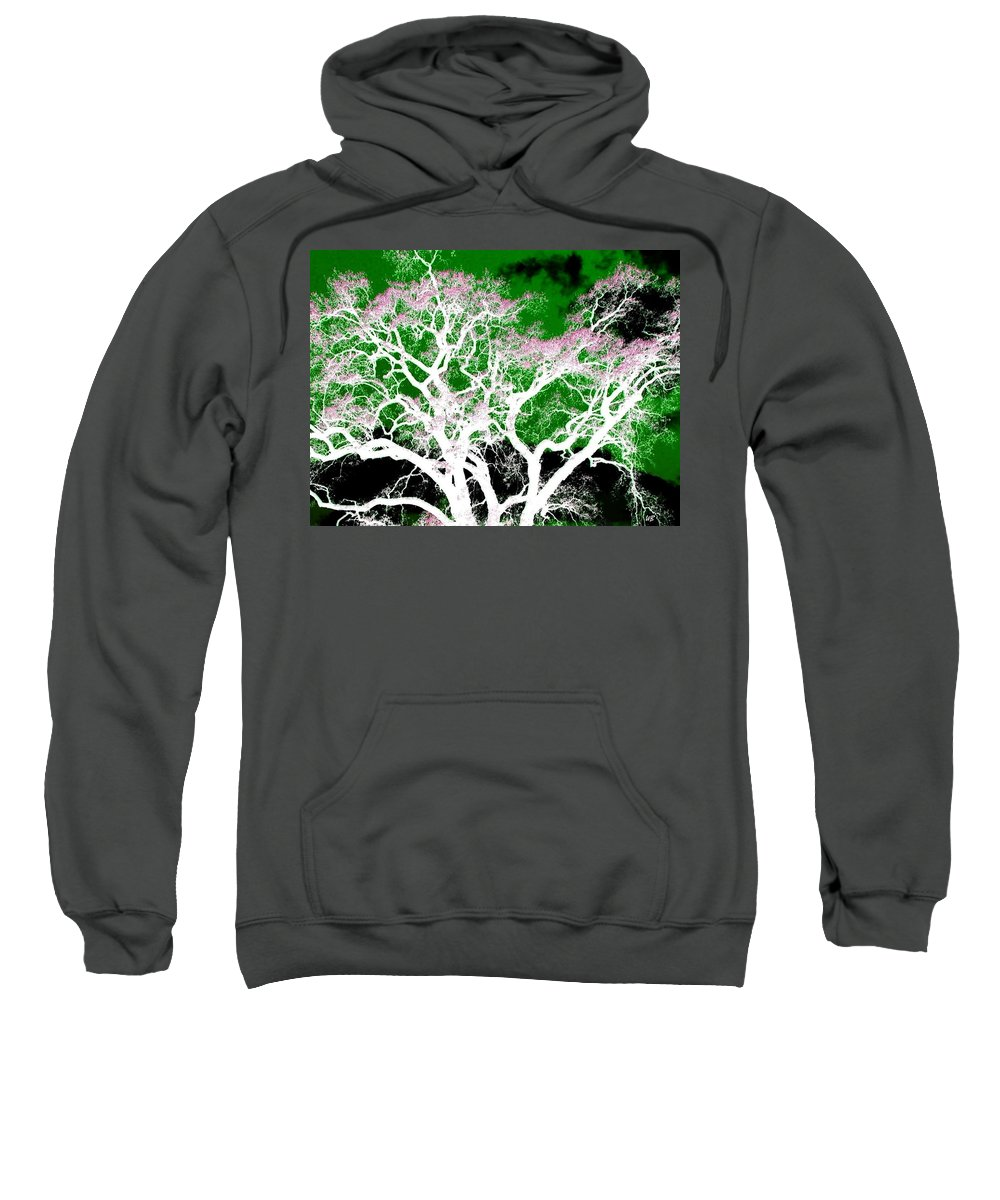 Impressions Sweatshirt featuring the digital art Impressions 1 by Will Borden