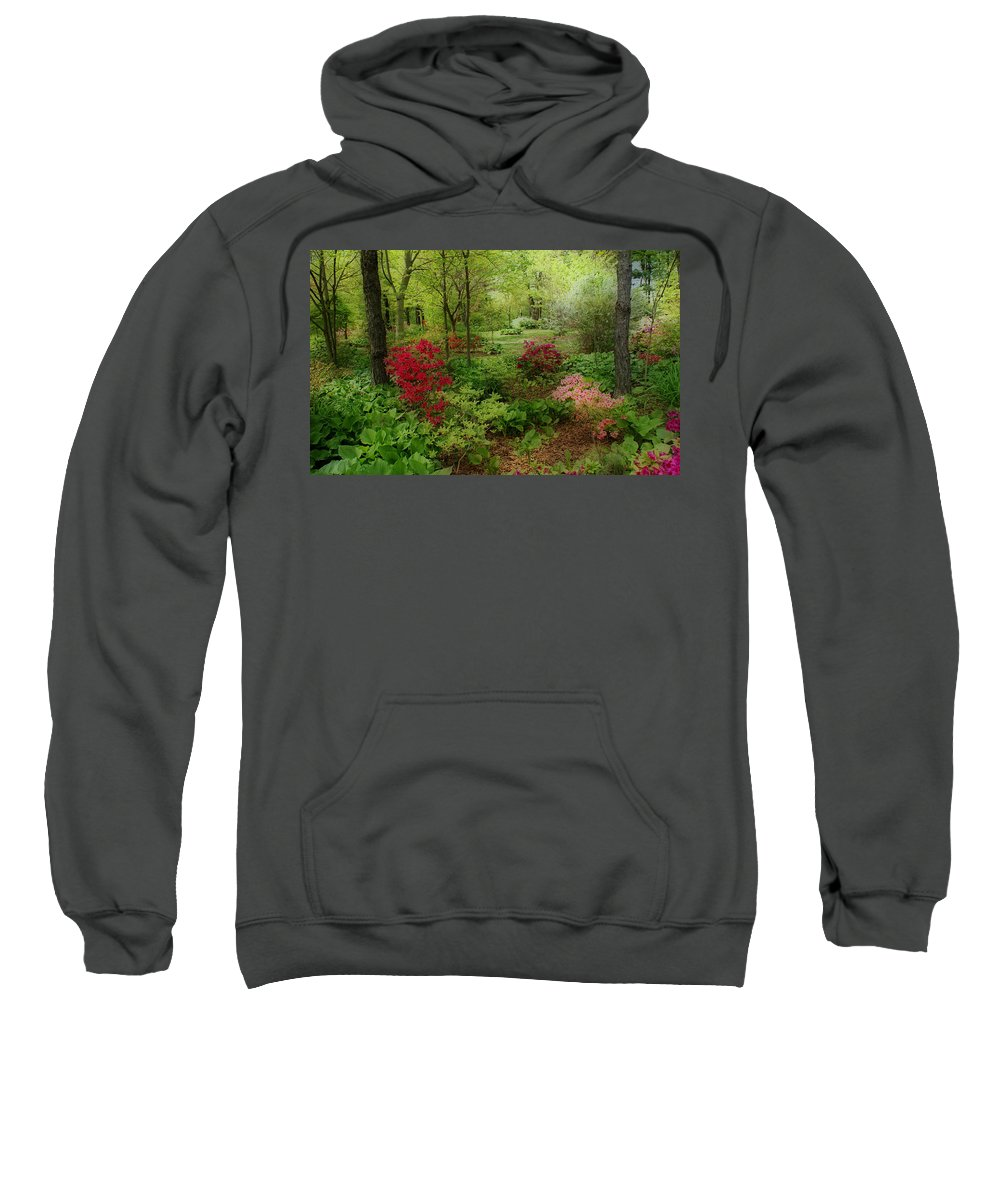 Gardens Sweatshirt featuring the photograph In My Dreams by Sandy Keeton