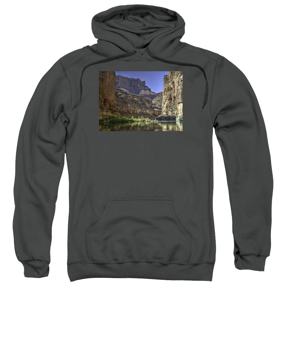 Southwest Usa Sweatshirt featuring the photograph In The Canyon by Alan Toepfer
