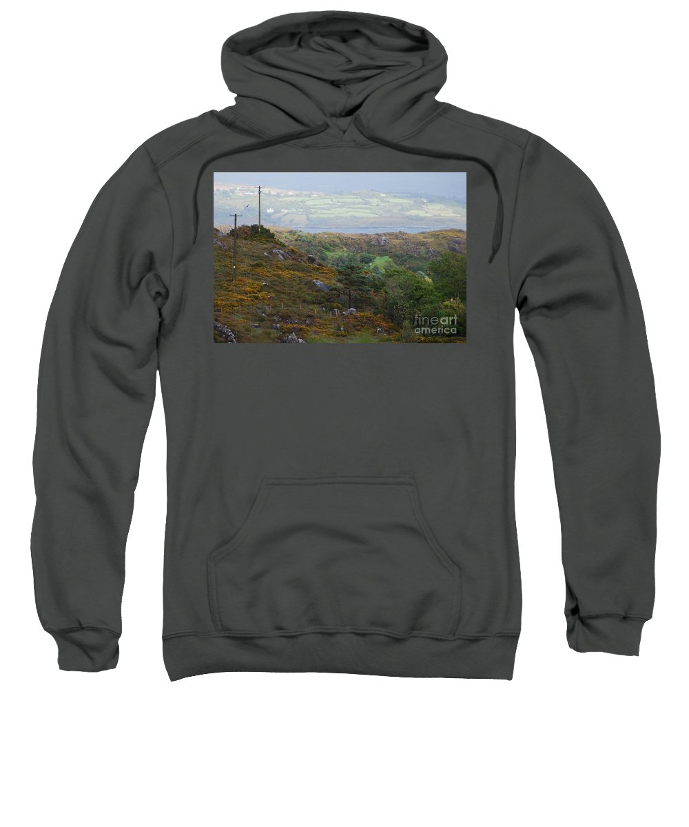 Art From Ireland Landscape Serene Nature Outdoors Travel Adventure Relaxation Scenery Rural No One Canvas Print Wood Print Metal Frame Poster Print Available On Greeting Cards Tote Bags Shower Curtains Throw Pillows Mugs Pouches Weekender Tote Bags Duvet Covers Phone Cases And Spiral Notebooks Sweatshirt featuring the photograph A Serene Irish Landscape # 3 by Marcus Dagan