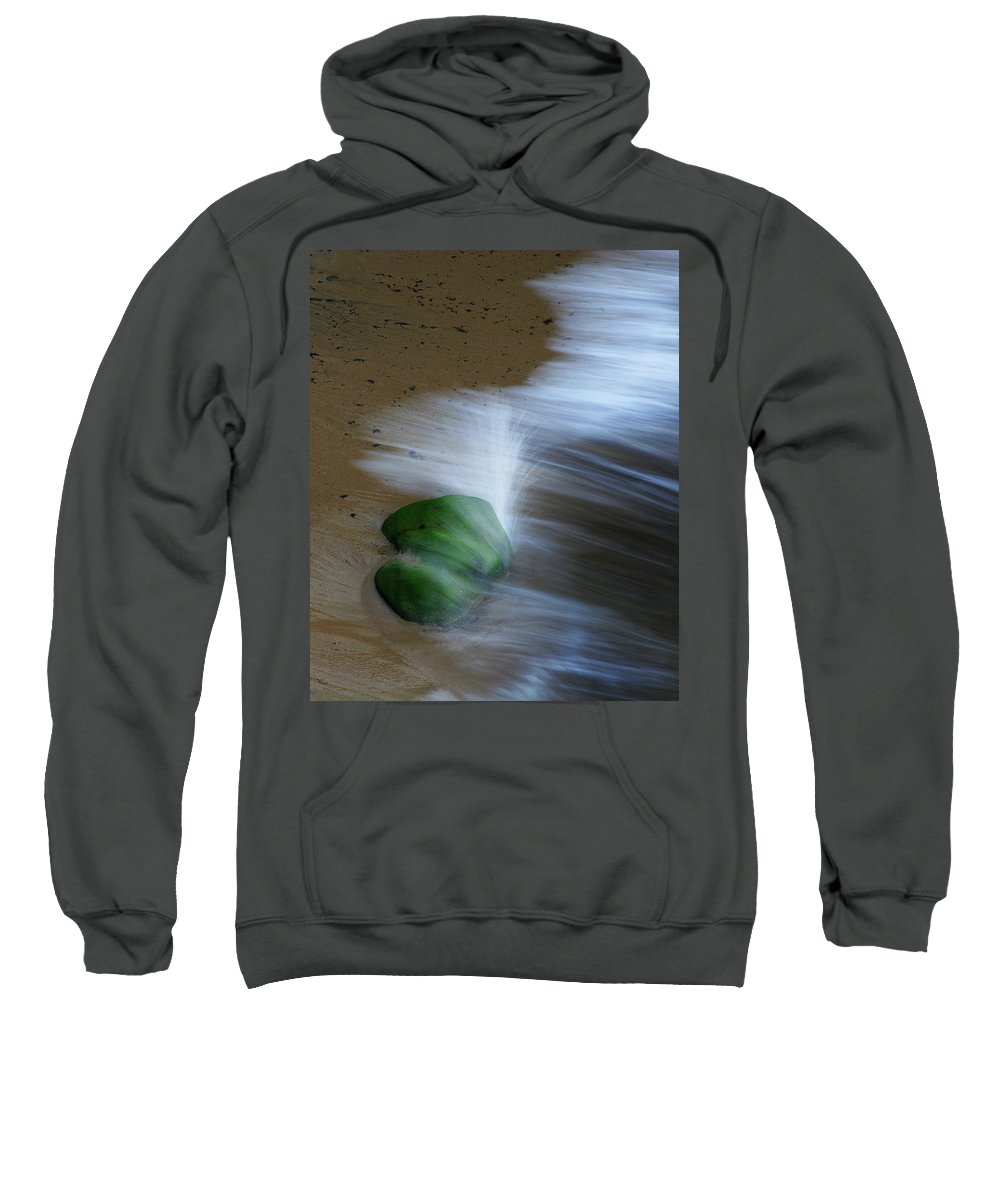 Waves Sweatshirt featuring the photograph Irresistable Force 2 by Robert Woodward