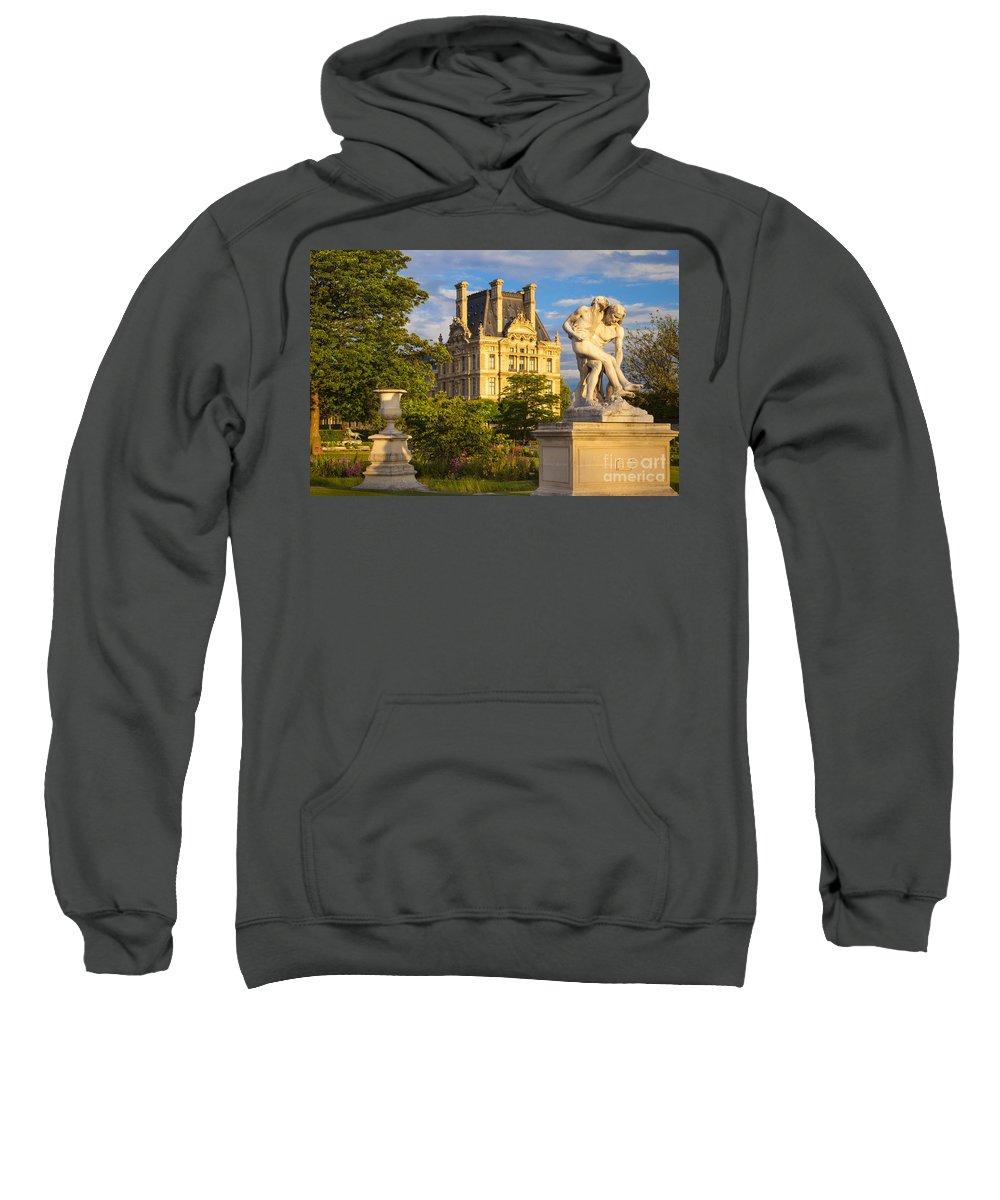 Architecture Sweatshirt featuring the photograph Jardin Des Tuileries by Brian Jannsen