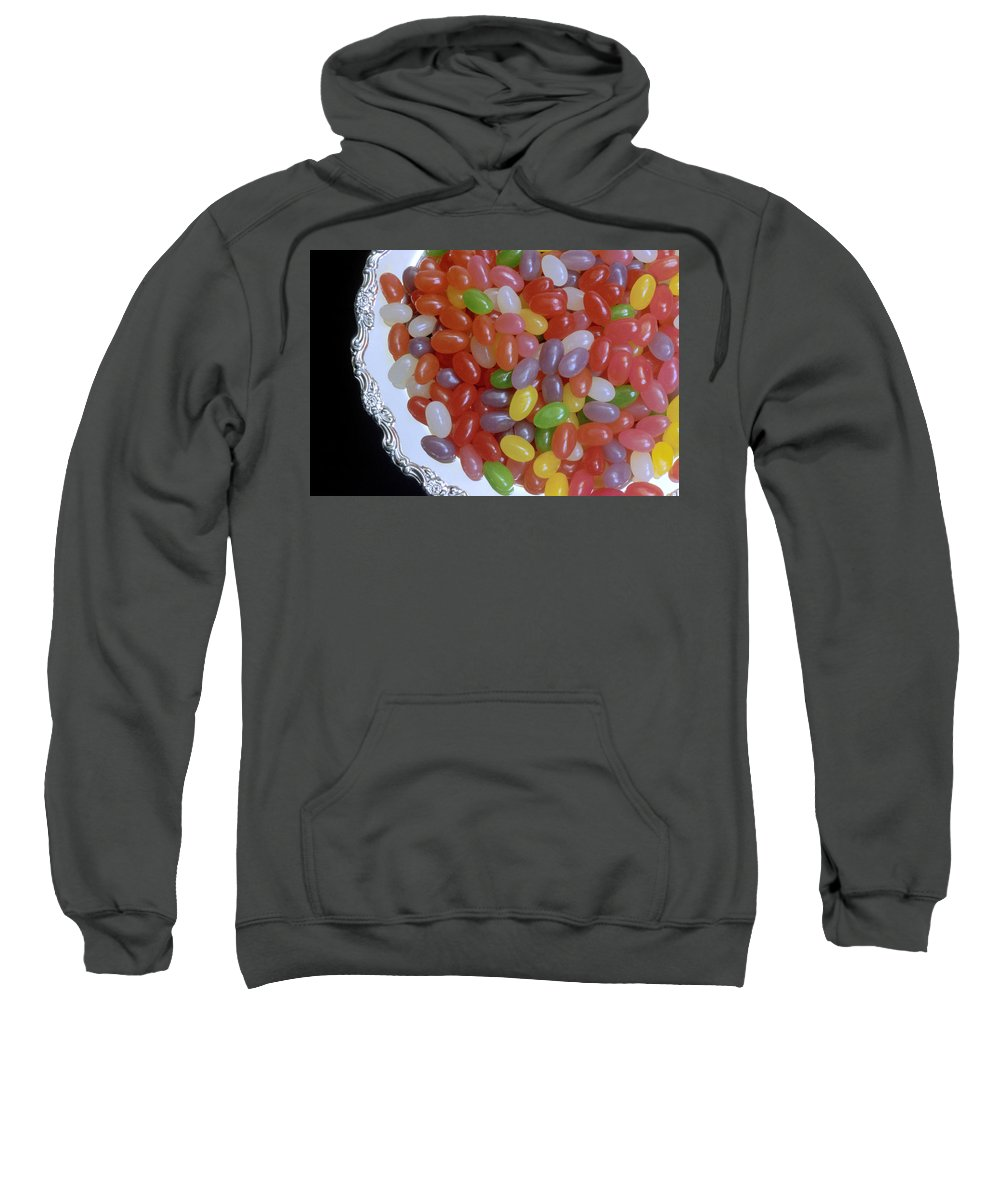 Jelly Beans Sweatshirt featuring the photograph Jelly Beans by Jerry McElroy