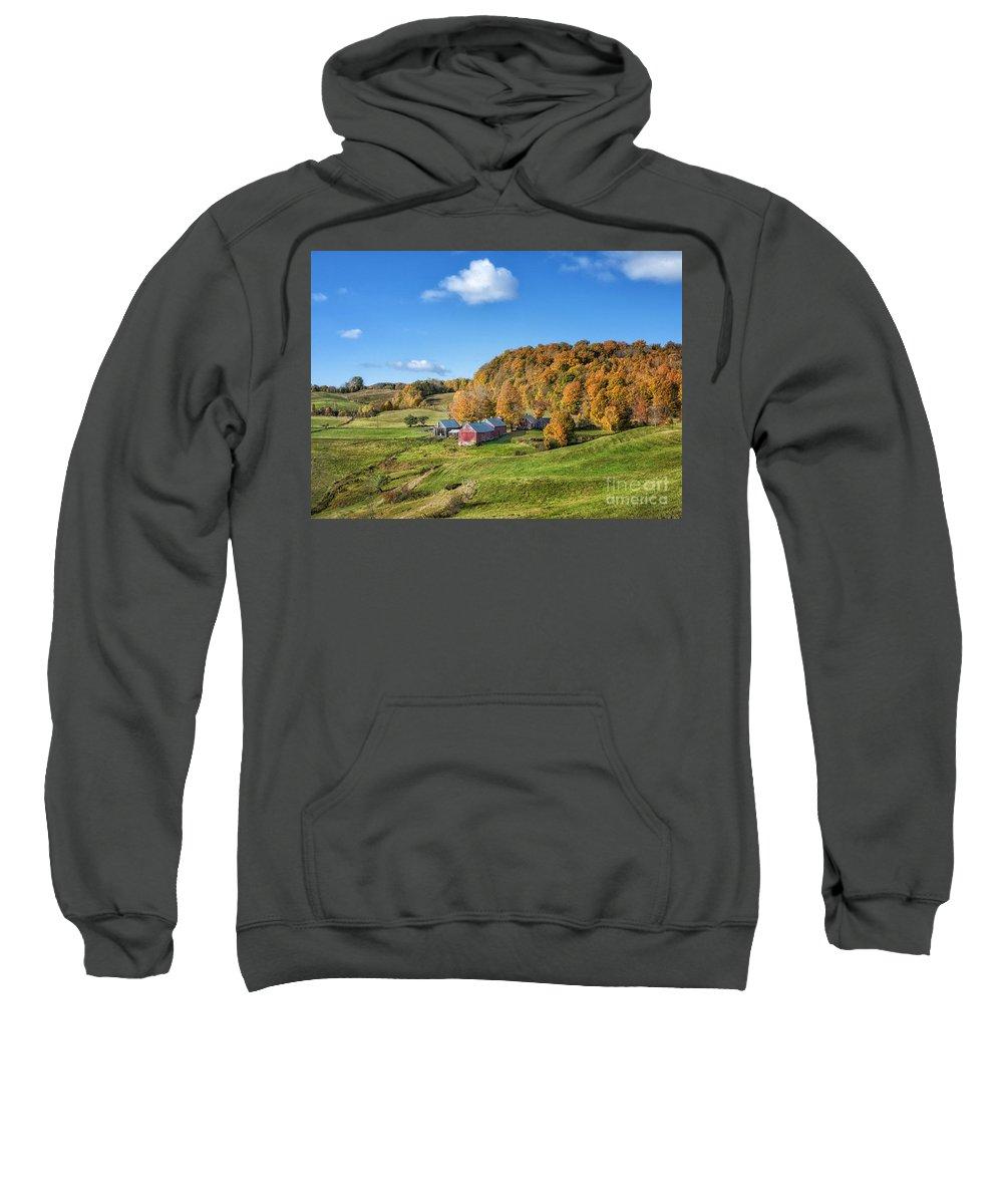 Farm Sweatshirt featuring the photograph Jenne Farm by Claudia Kuhn