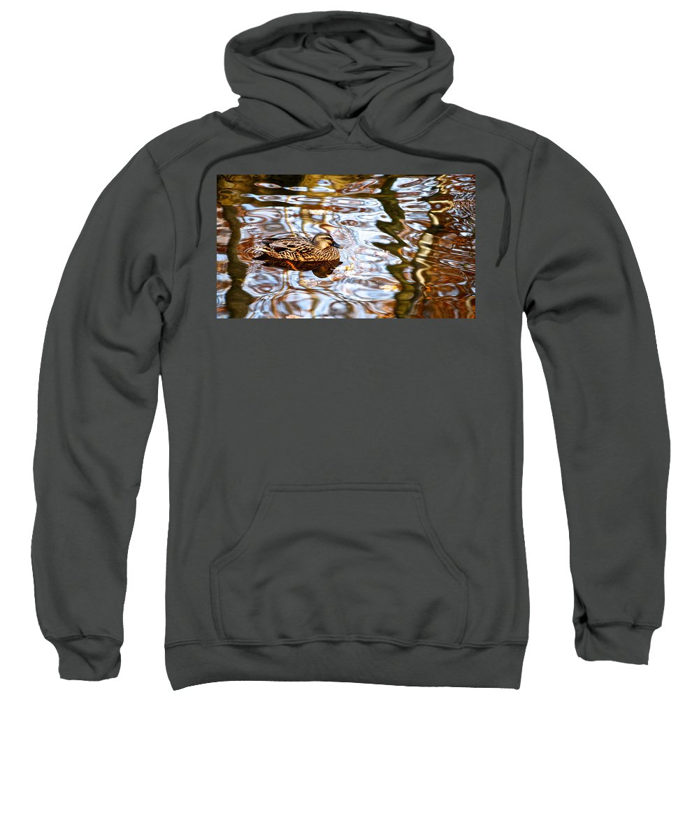 Jungle Sweatshirt featuring the photograph Jungle Water by Frozen in Time Fine Art Photography
