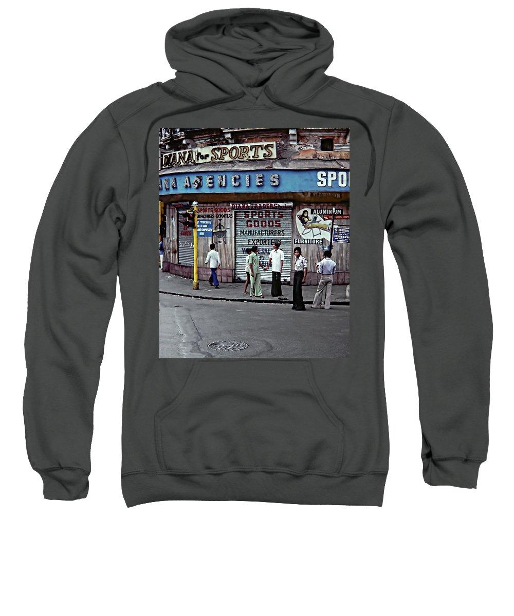 India Sweatshirt featuring the photograph Just Buddies by Steve Harrington