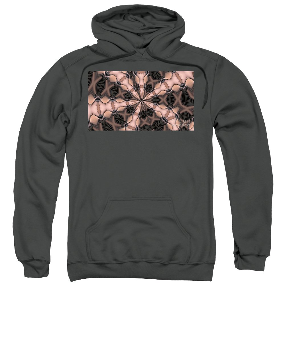 Kaleidoscope Sweatshirt featuring the photograph Kaleidoscope 27 by Ron Bissett