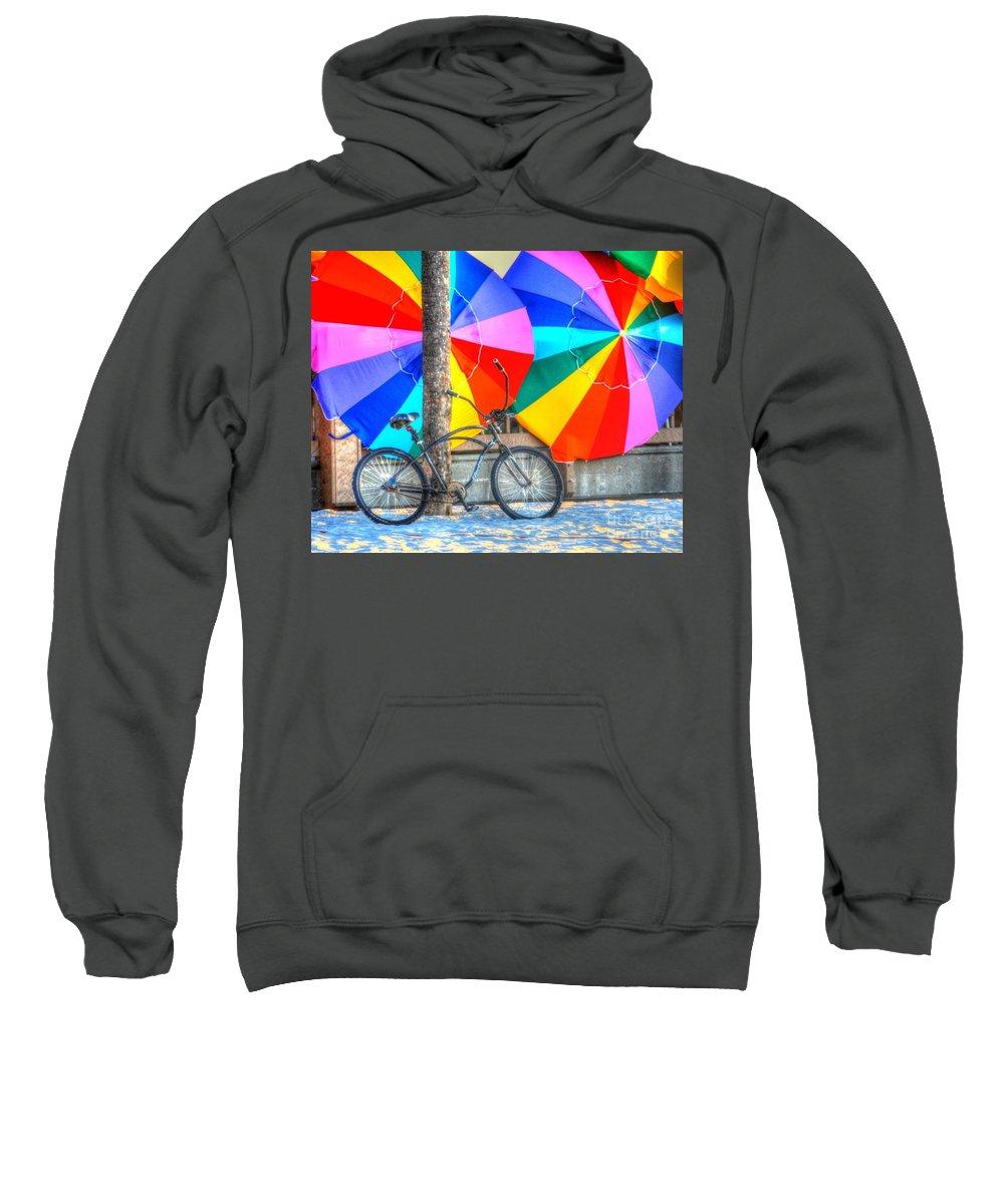 Bike Sweatshirt featuring the photograph Kaleidoscope by Debbi Granruth