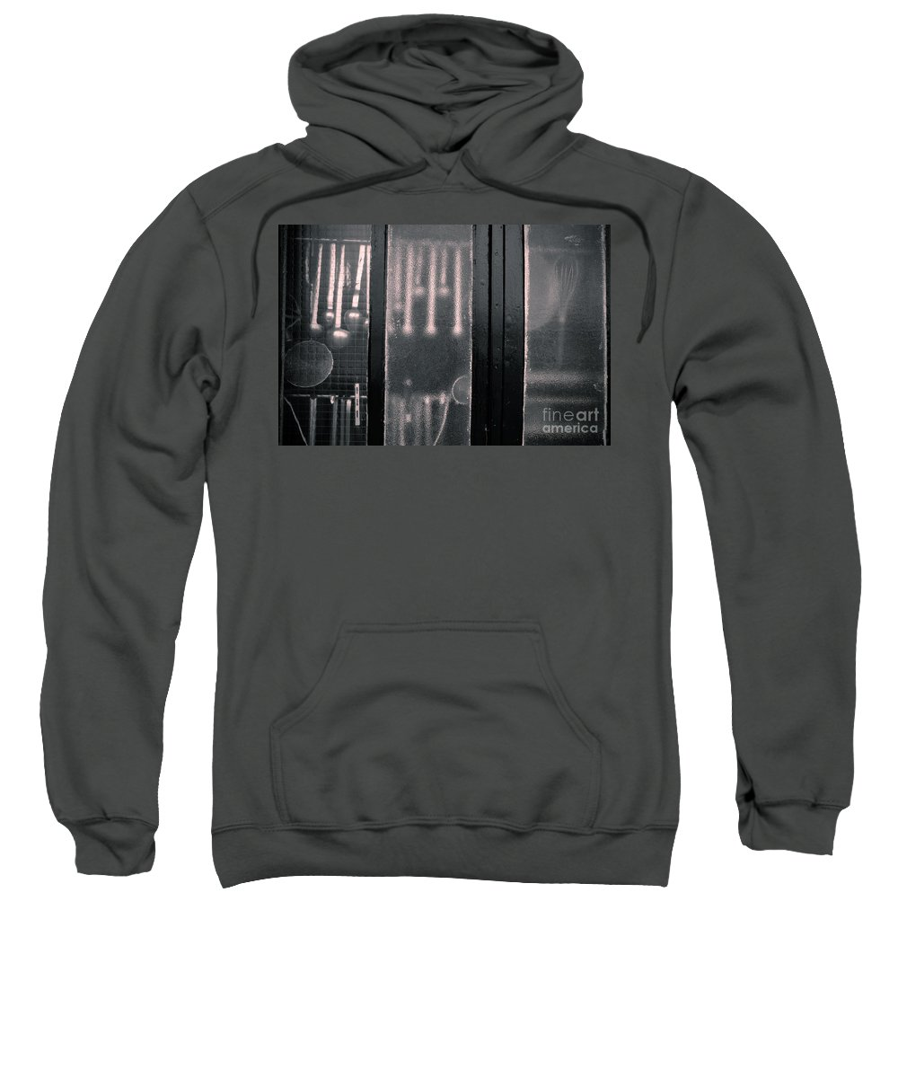 French Kitchen View Sweatshirt featuring the photograph Kitchen Window by Brothers Beerens