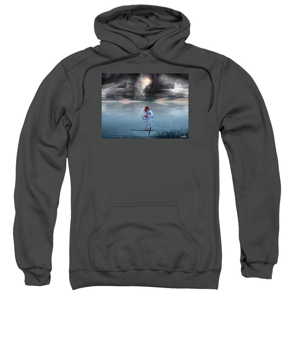 Children Sweatshirt featuring the digital art Known Of Yah by Bill Stephens