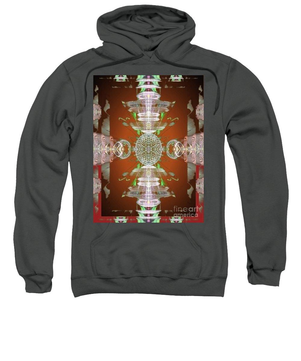 Angel Sweatshirt featuring the digital art Kore by Raymel Garcia