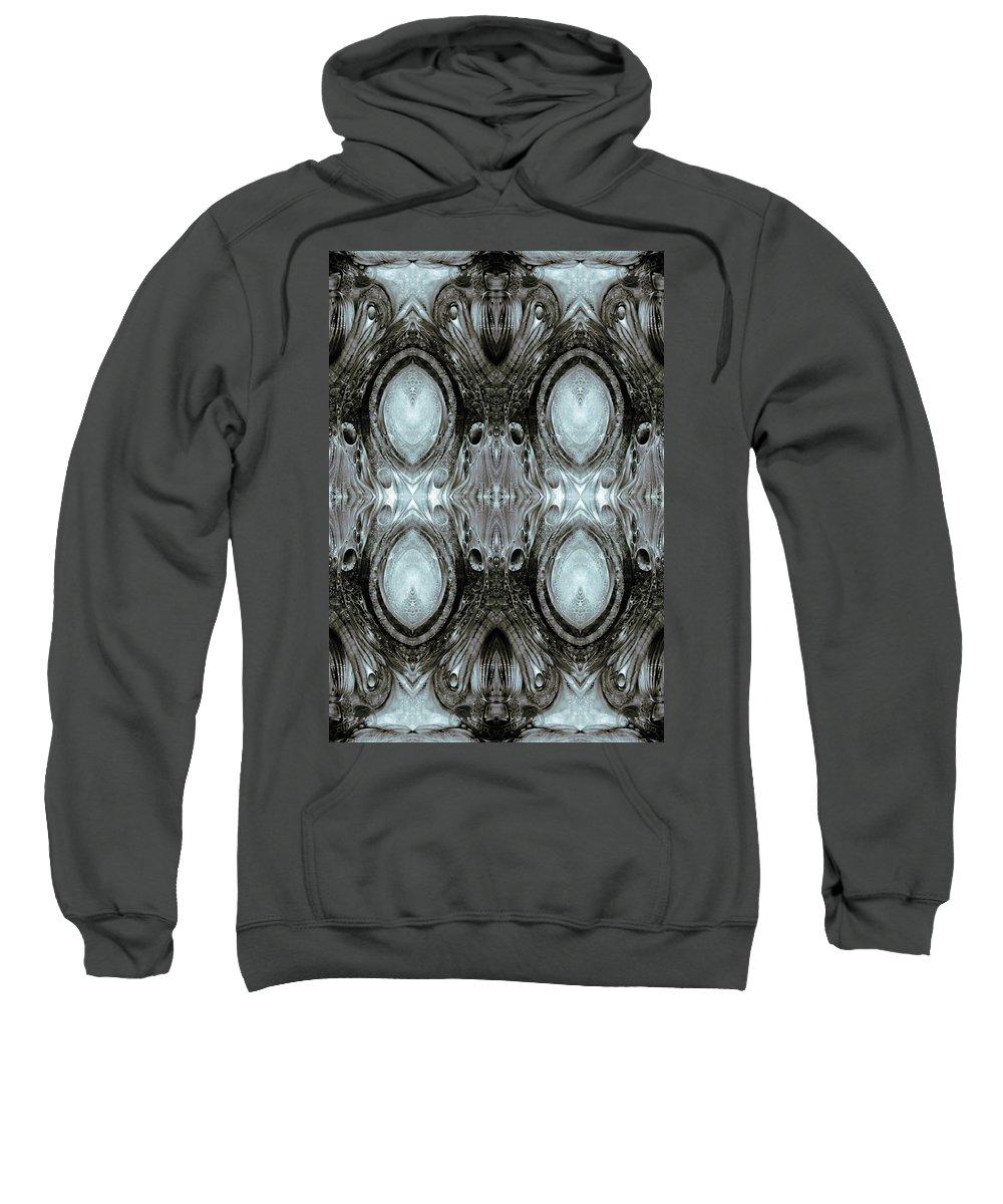 Vienna Sweatshirt featuring the digital art KRIX KRAX - digital manipulation by Otto Rapp