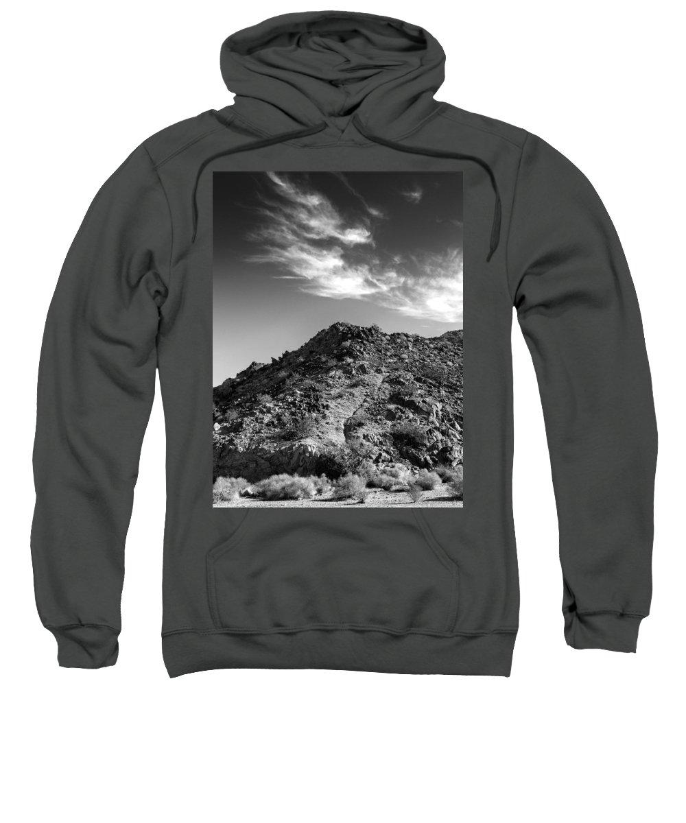 La Quinta Sweatshirt featuring the photograph La Quinta Early Morning by Dominic Piperata