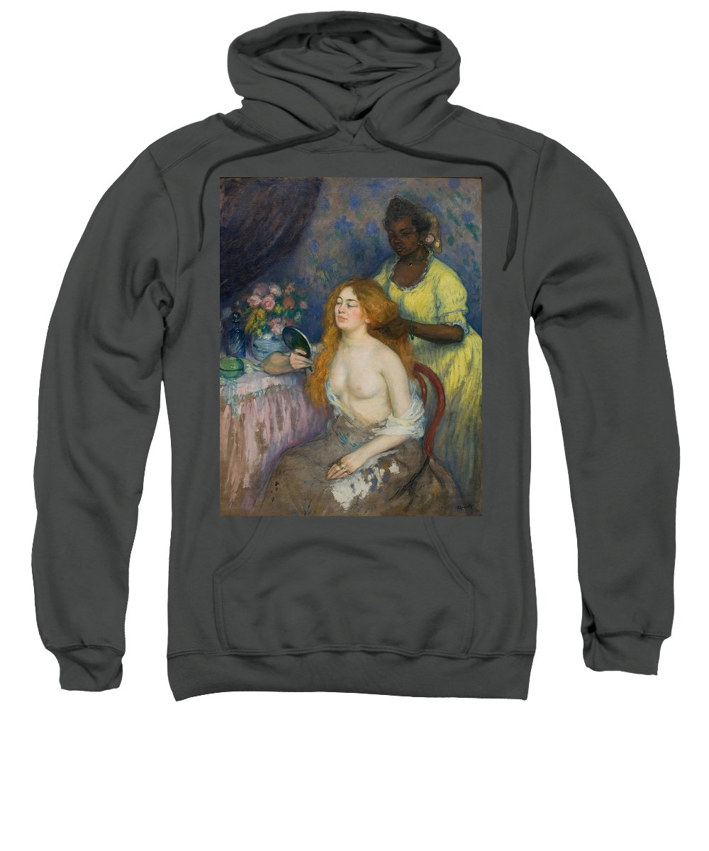 Ricard Canals Sweatshirt featuring the painting La Toilette by Ricard Canals