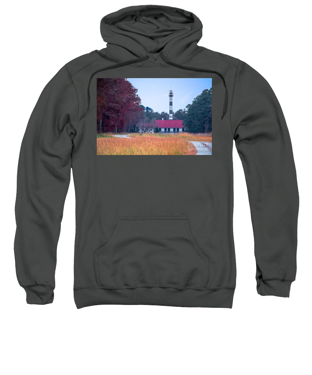 Pump Sweatshirt featuring the photograph Lake Mattamuskeet Pumping Station by Scott Hervieux