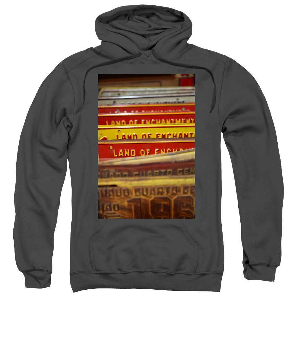 Land Of Enchantment Sweatshirt featuring the photograph Land Of Enchantment by Lynn Sprowl