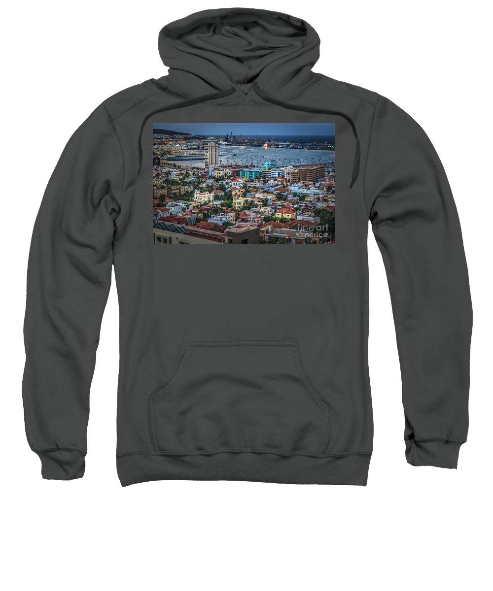 Las Palmas Sweatshirt featuring the photograph Las Palmas De Gran Canaria Spain by Pablo Avanzini