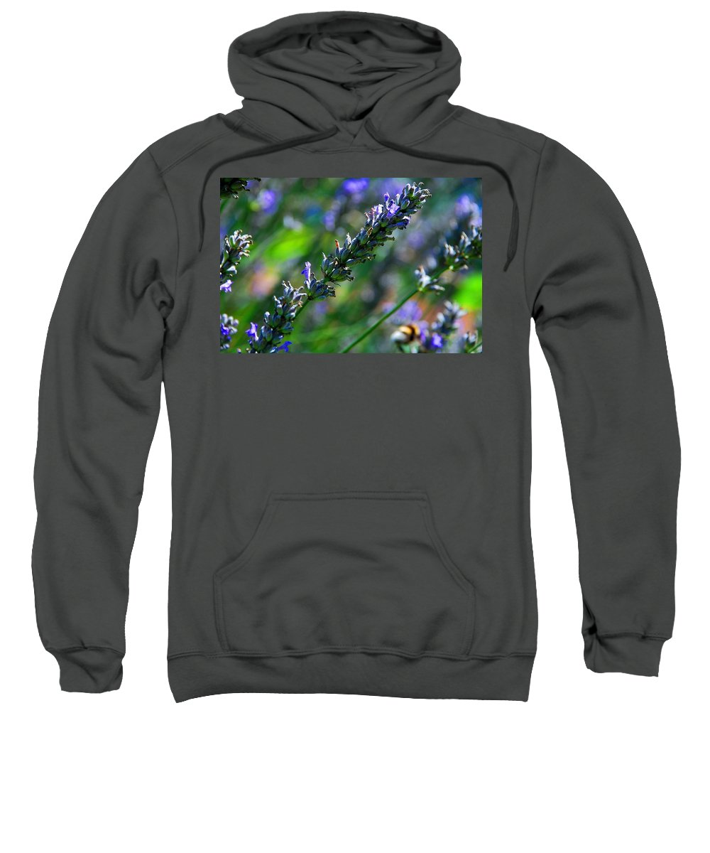 Lavander Sweatshirt featuring the photograph Lavender by Dany Lison