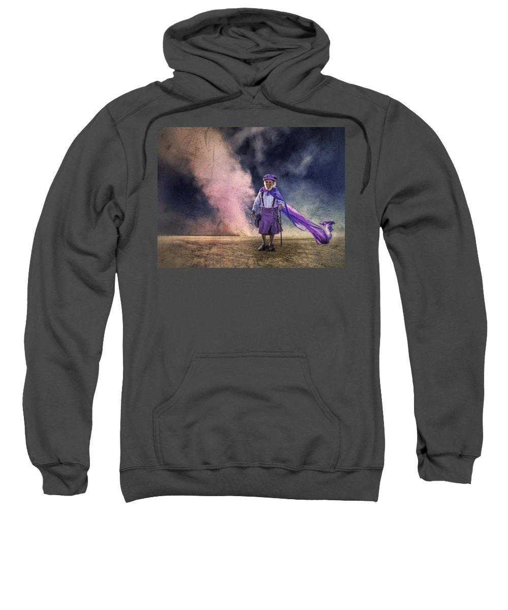 Desert Sweatshirt featuring the photograph Leprechaun by Dominic Piperata