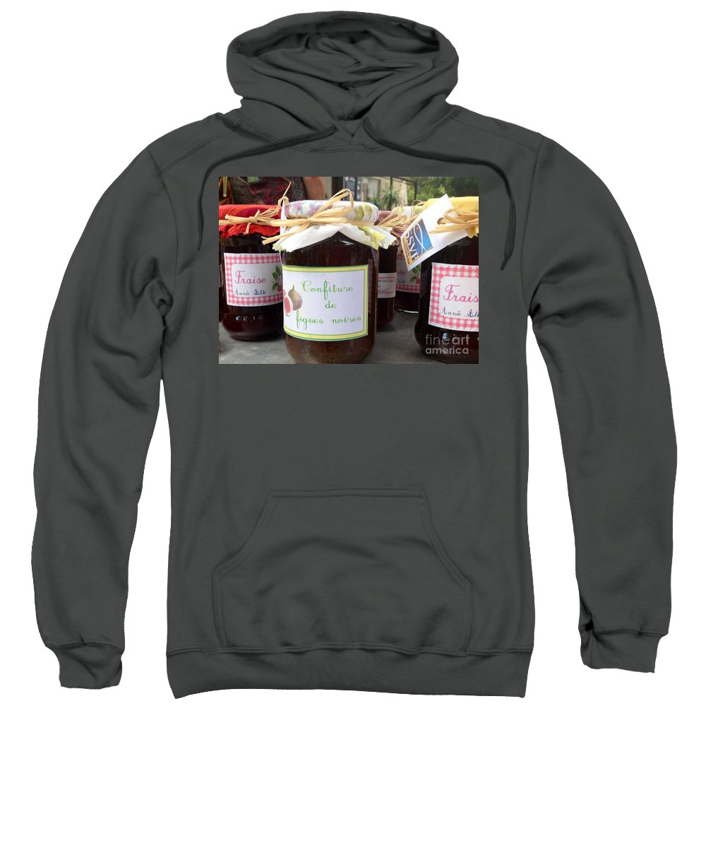 France Sweatshirt featuring the photograph Les Confitures by France Art