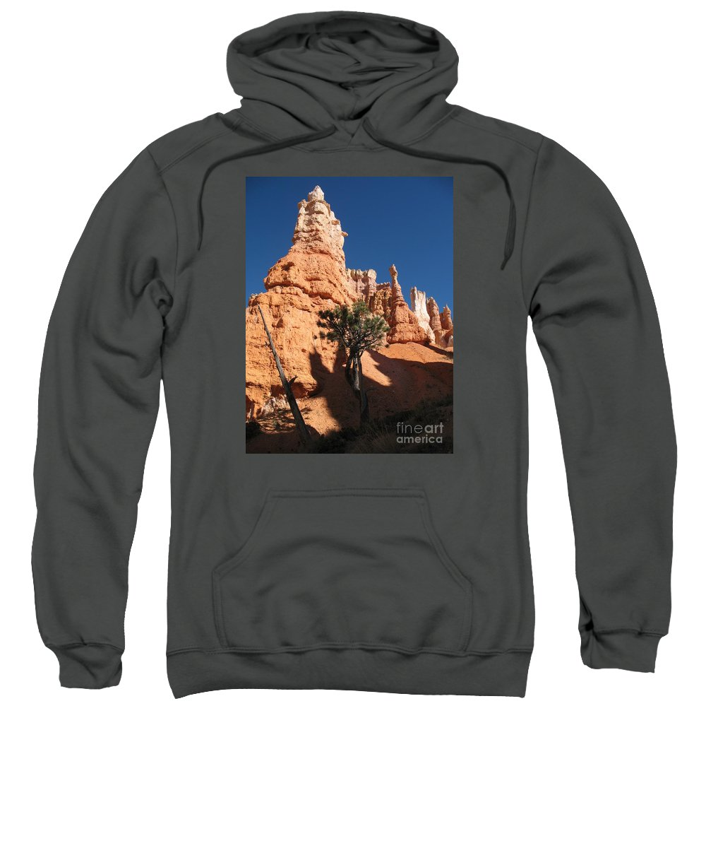 Light Sweatshirt featuring the photograph Light And Shadow In The Bryce Canyon by Christiane Schulze Art And Photography