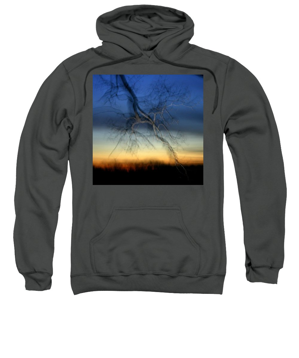 Landscape Sweatshirt featuring the photograph Lightning Branches by Neal Eslinger