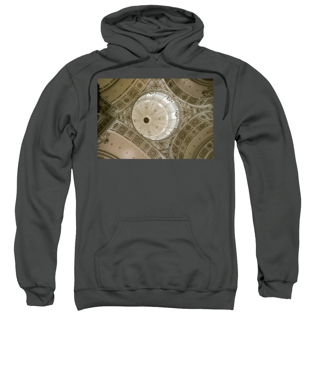 Looking Up Sweatshirt featuring the photograph Looking Up Munich by David Hohmann