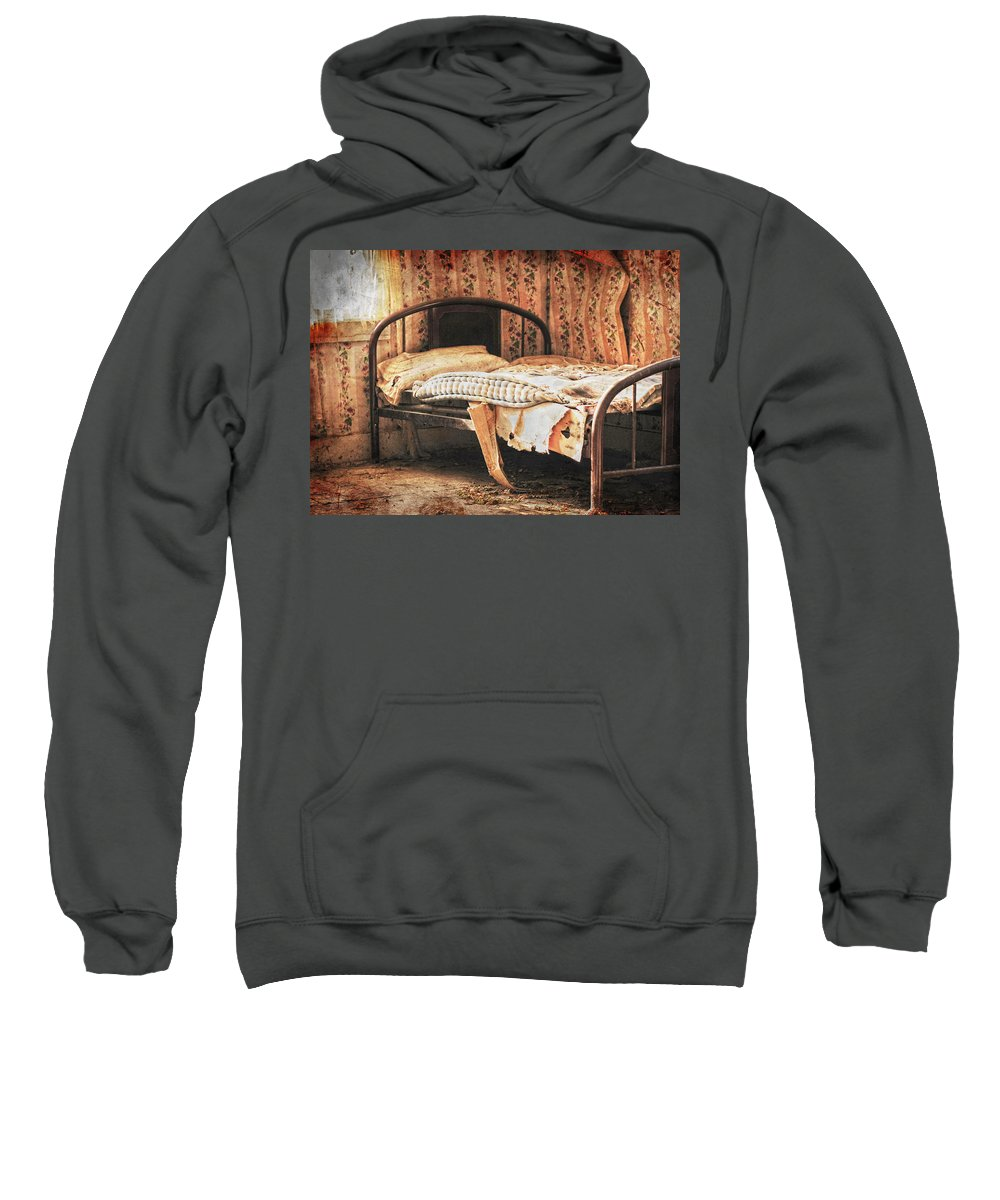 Bed Sweatshirt featuring the photograph Lost Dream by The Artist Project