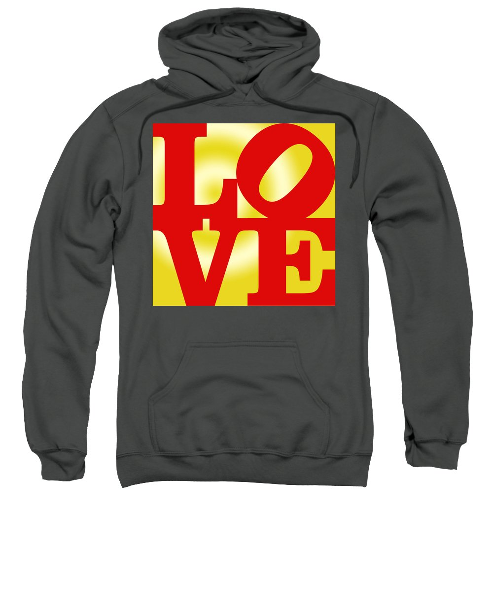 Wright Sweatshirt featuring the digital art Love by Paulette B Wright