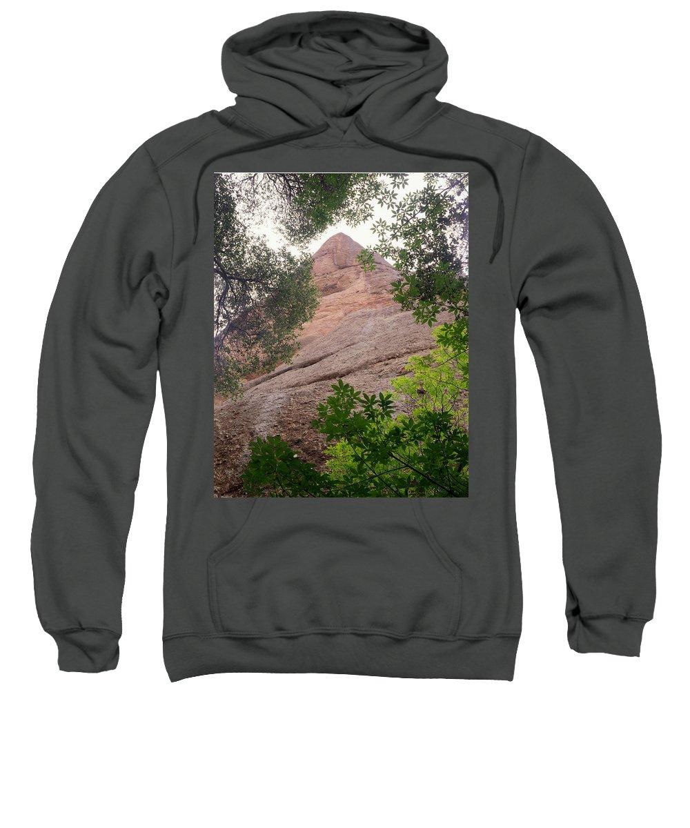 Machete Ridge Sweatshirt featuring the photograph Machete Ridge by Ed Cooper Photography