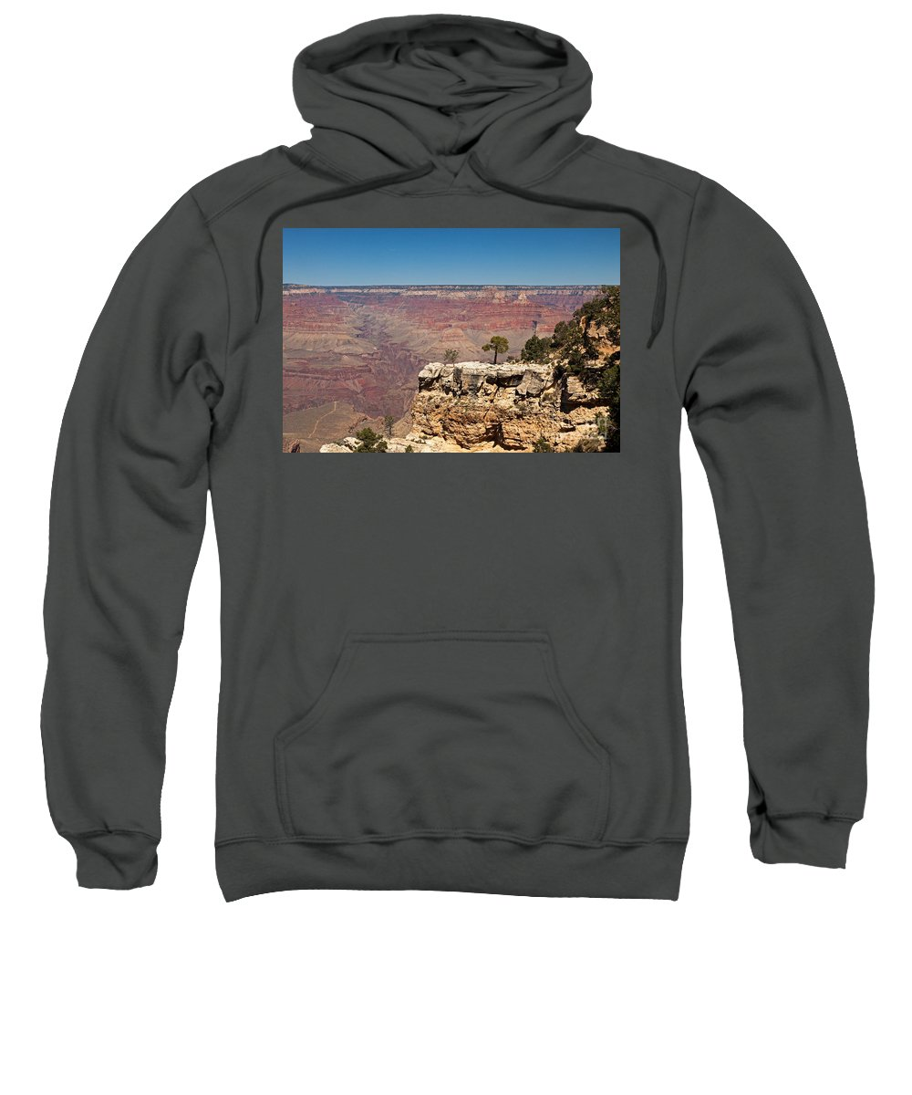 Afternoon Sweatshirt featuring the photograph Maricopa Point Grand Canyon National Park by Fred Stearns